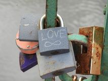 Valentine`s Day. Heart of the heart. Valentine`s Day. Padlock heart. Lovers Love Day Stock Photography