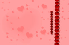 Valentine`s day, heart. Red heart on red background Valentine`s day, drawing Royalty Free Stock Images