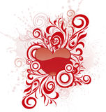Valentine's day heart-shape Stock Photography