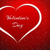 Valentine's Day heart Stock Images