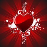 Valentine's day hearth Royalty Free Stock Photo