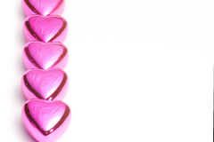 Valentine's Day Hearts Royalty Free Stock Photo