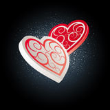 Valentines Day Hearts Stock Photo