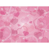 Valentine's Day Hearts Background Royalty Free Stock Photo