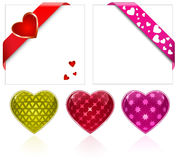 Valentine's Day. Hearts Collection Stock Image