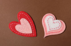 Valentine's Day Hearts Stock Photography