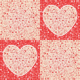 Valentine``s Day - Hearts - wrap. Valentine``s Day love - wrap Hearts collection Stock Photo