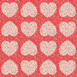 Valentine``s Day - Hearts - wrap. Valentine``s Day love - wrap Hearts collection Royalty Free Stock Photography