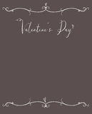 Valentine's Day Hipster Copy Space Royalty Free Stock Image