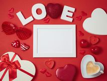 Valentine`s day holiday background Royalty Free Stock Photography