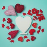 Valentine`s day holiday background Royalty Free Stock Images