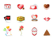Valentine's day icon Royalty Free Stock Photography