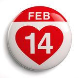 Valentine's Day icon Royalty Free Stock Images