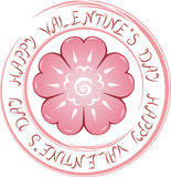 Valentine's day illustration Royalty Free Stock Photos