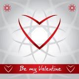 Valentine's Day illustration Royalty Free Stock Photo
