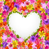 Valentine`s day illustration Stock Image