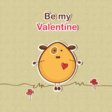 Valentine's day illustration Stock Photo