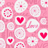 Valentine's Day illustration Royalty Free Stock Photos