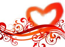 Valentine's day illustration Royalty Free Stock Photography