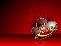Valentine's day illustration Stock Images