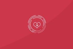 Valentine`s Day Illustration stock illustration