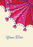 Valentine's Day invitation card Royalty Free Stock Photos