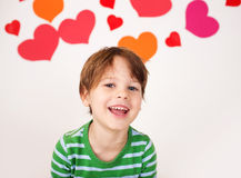 Valentine's Day: Kids Fun Royalty Free Stock Photo