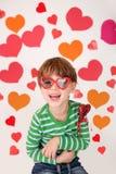 Valentine's Day: Kids Fun Royalty Free Stock Image