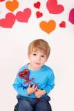 Valentine's Day: Kids Fun Stock Image