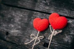 Valentine`s day love art background. Stock Photos