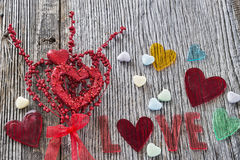 Valentine's Day Love background Royalty Free Stock Photos