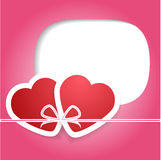 Valentine's Day. Love and hearts. Vector illustration. EPS 10 Royalty Free Stock Images