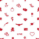 Valentine's day and love pattern eps10 Stock Images