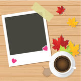 Valentine's day love set of photo frames. Vector Stock Photography