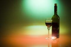 Valentine's day luxury diamond and wine Stock Photos