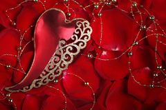 Valentine's day ornament Royalty Free Stock Image