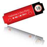 Valentine\\\'s day party Royalty Free Stock Photos