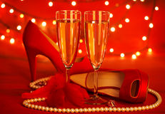 Valentine's day party Royalty Free Stock Photos