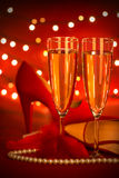 Valentine's day party Royalty Free Stock Image