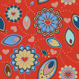 Valentine's day pattern Royalty Free Stock Photos