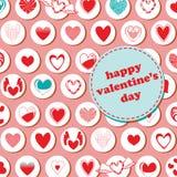 Valentine's Day pattern Royalty Free Stock Image