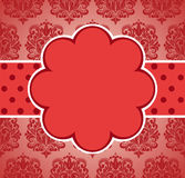 Valentine's day pink vintage background. Royalty Free Stock Photography