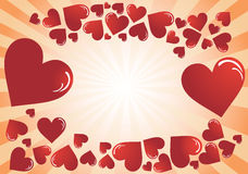 Valentine's Day post cards Royalty Free Stock Photos