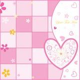 Valentine's day postcard Royalty Free Stock Photos