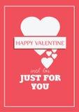 Valentine s Day Postcard Stock Photos