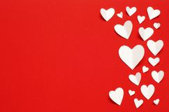 Valentine`s Day postcard. Love concept for mother`s day and valentine`s day. royalty free stock photo
