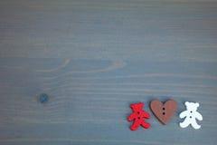 Valentine's Day postcard. Stock Photography