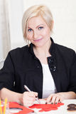 Valentine's Day prepartions Stock Images
