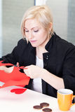 Valentine's Day prepartions Stock Photo