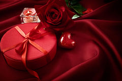 Valentine's day present Royalty Free Stock Image